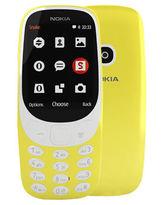 NOKIA 3310 16MB 2G DUAL SIM,  yellow