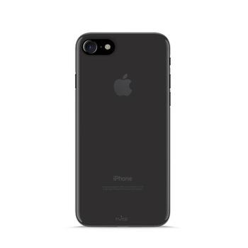 Puro TPU   0.3   Ultra Slim Cover for iPhone 7w/Screen Protector Black