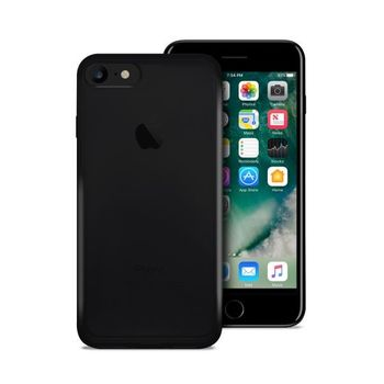 Puro iPhone 7 Ultra-Slim   0.3 Nude   Cover Black