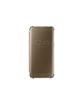 SAMSUNG GALAXY S7 EDGE G935F CLEAR VIEW COVER,  gold