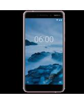 NEW NOKIA 6 2018 4G LTE 32GB DUAL SIM,  white iron