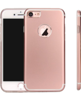 MYCANDY IPHONE 7 / IPHONE 8 TITANIUM BACK CASE ROSE GOLD