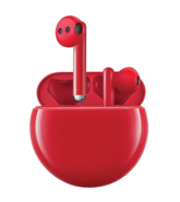 HUAWEI FREEBUDS 3 TRUE WIRELESS HEADPHONES,  red