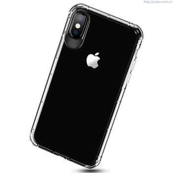 USAMS IPHONE X BACK CASE JAM SERIES CLEAR