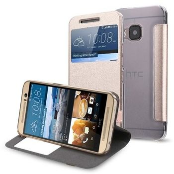PEACOCKTION HTC M9 ROYAL FLIP,  gold