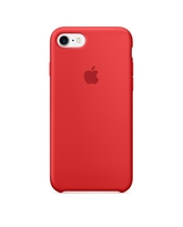 APPLE IPHONE 7 SILICONE BACK CASE RED