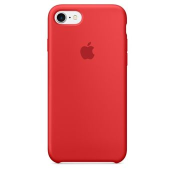 APPLE IPHONE 7 / IPHONE 8 SILICONE BACK CASE RED