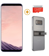 SAMSUNG GALAXY S8 PLUS with 128GBCard and KickTok Cover,  grey