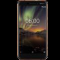 NEW NOKIA 6 2018 4G LTE 32GB DUAL SIM,  black copper