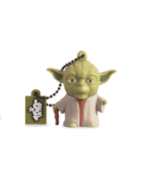 TRIBE USB FLASH DRIVE 16GB STAR WARS YODA THE WISE,  green
