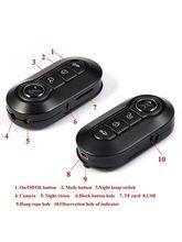 Mini Car Key CHain DV Spion Spy Hidden Camera Camcorder Ir 1080P
