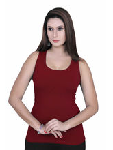 Gargi Ladies 4 -Way Stretchable T-Backs (OGST-11-DK. MAROON), s