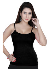 Gargi Ladies 4-Way Stretched Camisole (OGST-13-BLACK), xl