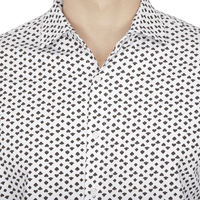 Chasquido All-over Card Print Shirt in Slim Fit, l