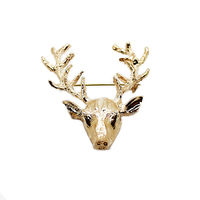 Chasquido signature deer pin