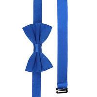 Blue Silk Bow Tie