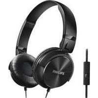 Philips SHL3095BK On-Ear Headphone with Mic,  black