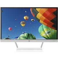 HP 22XW LED Backlit Monitor,  white, 21.5