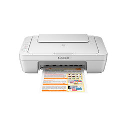 Canon PIXMA MG2570 Colour Multifunction Inkjet Printer,  white