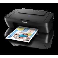 Canon PIXMA E470 All-In-One Inkjet Printer,  black