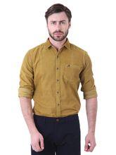 Roman Island Men's Shirt Full Sleeves (890111610631E-CZ), s, brown
