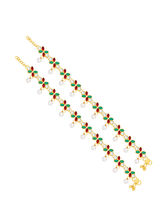 Sukkhi Modish Gold Plated Anklet For Women (22029AGLDPD1300)