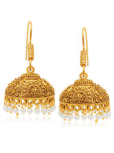 Sukkhi Delightful Gold Plated Earring For Women (6888EGLDPI1200)