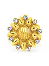 Sukkhi Magnificent Gold Plated AD ToeRing For Women (24013TRADP350)