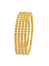 Sukkhi Gleaming LCT Stone Gold Plated AD Bangle Fo...