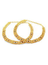 Sukkhi Stylish Gold Plated AD Anklet For Women (22020AADP2900)