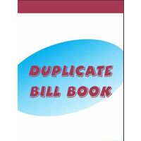 Vajawat Duplicate Bill Book Medium