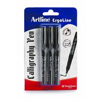 Artline Ergoline Calligraphy Pen -Green (3 Pcs with 1.0, 2.0, 3.0 Tips)