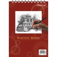 Worldone Spiral Sketch Book(25 Sheets, WPP1303)