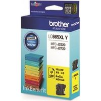 Brother LC665XLY Yellow Ink Cartridge