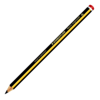 Staedtler Noris Ergosoft Triangular Jumbo Pencil (153 2B) (Pack of 12)