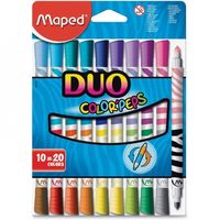 Maped Duo Felt tip Colour Pen, 10 Shades