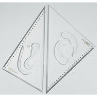 Omega Set Square Deluxe (10* 12 BFCMP) (1523 P)