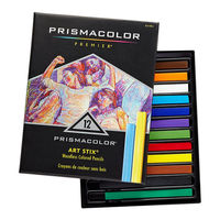 Prismacolor Art Stix Colour Pencil (Set of 12) (SAN 2162)