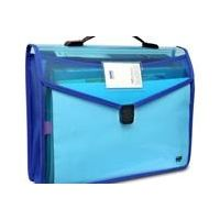 Solo Flexi Document Case (Xtra Pocket+ Lock & Handel)