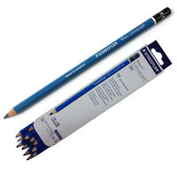Staedtler Mars Lumograph Pencils 100 7B, Pack of 4