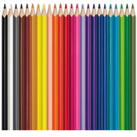 Maped Aqua Color Peps Water Colour Pencils, 24 Shades