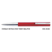 Signac Evoque Twist Ball Pen Metallic Red (EHC-415B)