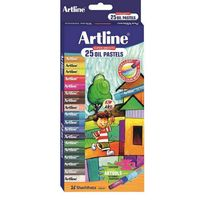 Artline Oil Pastel - 25 shades