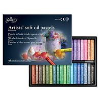 Mungyo Gallery Artist Soft Oil Pastels (36 Colours)