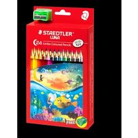 Staedtler Luna Jumbo Learner's Color Pencil 24 Shades (139 C24)