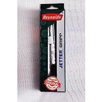 Reynolds Jetter Gripp Blue Ball Pen (Pack Of 10)