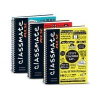 Classmate 6 Subject Notebook Ruled A4 Size 300 Pages