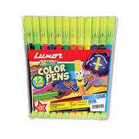 Luxor Sketch O Matic Sketch Pens (12 Colours) 976 Y