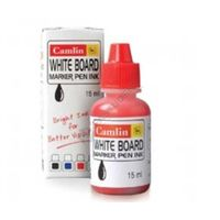 Camlin White Board Marker Ink 15ml (Red) (20 Pcs pack)