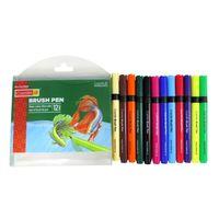 Camlin Brush Pens - 12 Shades